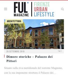 Ful Magazine - Dimore storiche, Palazzo dei Pittori