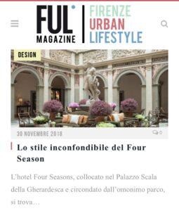 Ful Magazine - Lo stile inconfondibile del Four Season