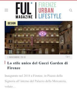 Ful Magazine - Lo stile unico del Gucci Garden di Firenze