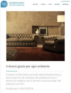 TID - Il divano giusto per ogni ambiente