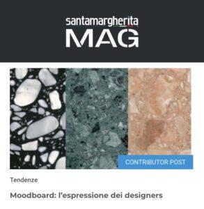 santamargherita MAG - Moodboard, l'espressione del designers